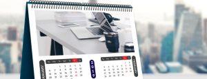 Изготовление календарей с фото в Новосибирске